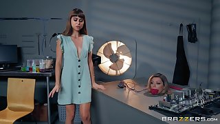 a dreams come true for handsome dude after the fuck with Riley Reid