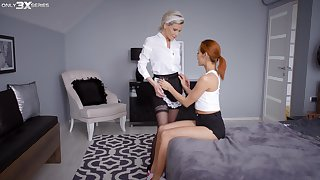 Nice poof sex leads to FFM threesome - Subil Arch together with Veronica Leal