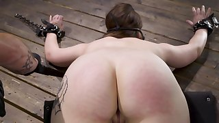 Hadley Mason is a slut by nature who easily agrees for BDSM act